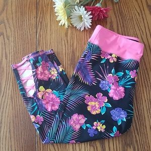 Justice flowered pants